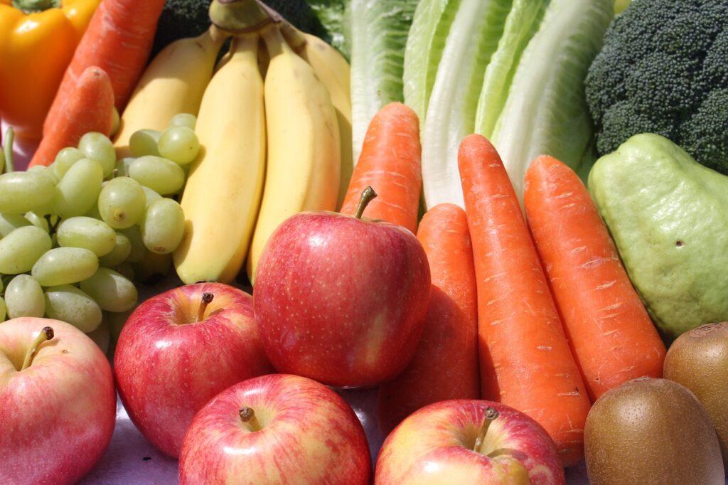 HTC Blog - fruit and veg